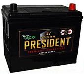 Аккумуляторы автомобильные President